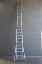 Ladder 3 x 22 met optrekkoord en haak VGS