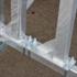 Steigeraanhanger voor 4 steigers van 10 meter