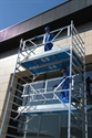 Extra veilige rolsteiger AGS enkelzijdig 8,3 meter werkhoogte