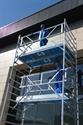 Extra veilige rolsteiger AGS enkelzijdig 10,3 meter werkhoogte